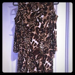 Beautiful Cold Shoulder Dress by Susan Graver
